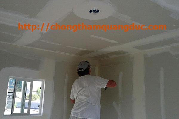 xử lý chống thấm trần nhà đảm cảo chất lượng