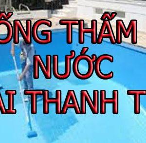 Chống Thấm Bể Nước Tại Thanh Trì