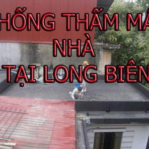 Chống Thấm Mái Sàn Tại Long Biên