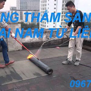 Chống Thấm Sàn Mái Tại Nam Từ Liêm
