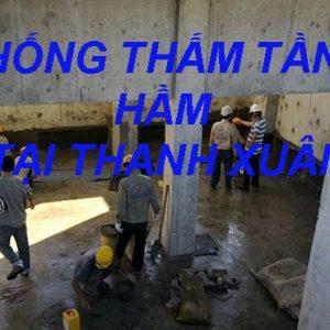 Chống Thấm Tầng Hầm Tại Thanh Xuân