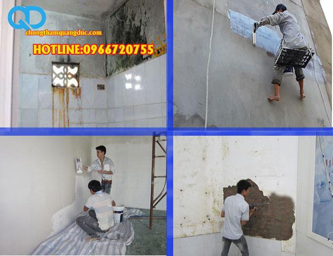xử lý chống thấm nhà ở hà nội
